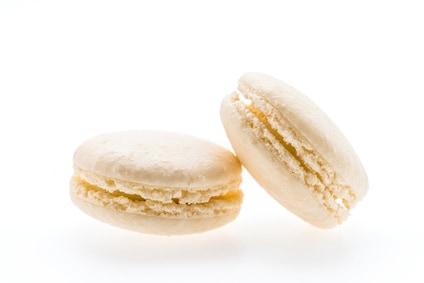 Vegane Macarons mit Vanille