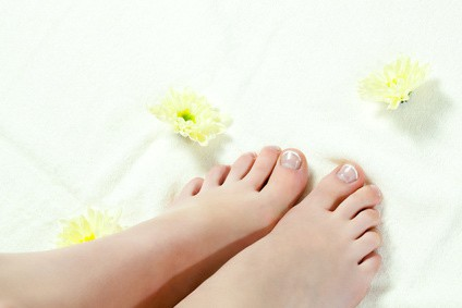 Fußbad zur Fußpflege