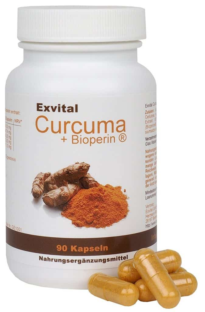 Curcuma Kapseln Exvital