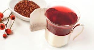 Hagebuttenpulver und Tee